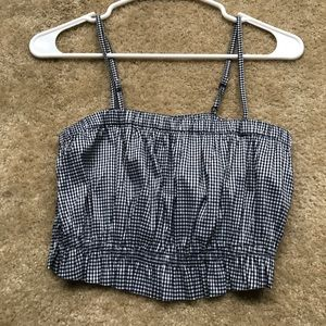Urban outfitters gingham top size S